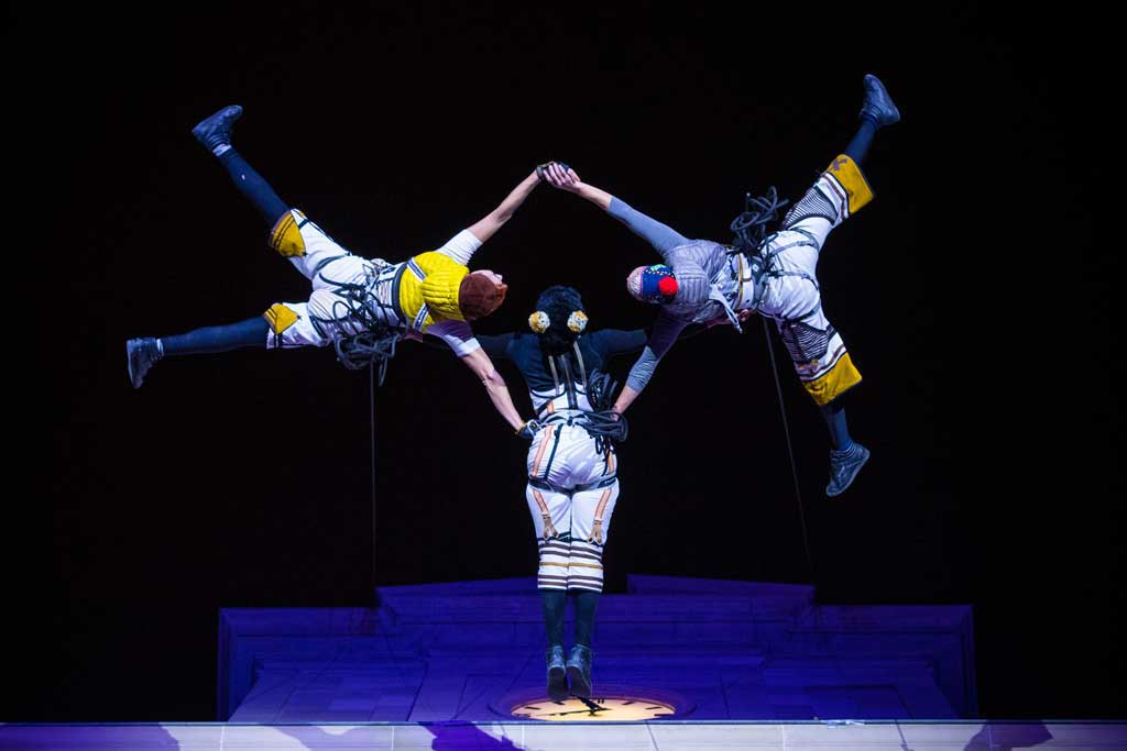 Espectacle dansa aèria esdeveniments promocionals Local Pro